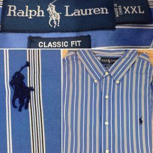 Ralph Lauren Classic Fit Long Sleeved Shirt